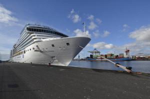 El crucero MSC Preziosa hace escala por primera vez en el puerto de A